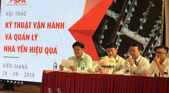 Hội thảo kỹ thuật vận hành và quản lý nhà yến hiệu quả tại Kiên Giang