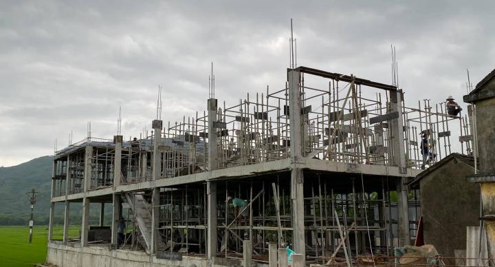 Công trình thi công nhà nuôi yến tại Lào