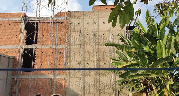 Công trình thi công nhà nuôi yến tại Đồng Xoài